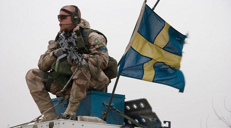 Swedish soldier. Photo by Brindefalk, WIkimedia Commons.