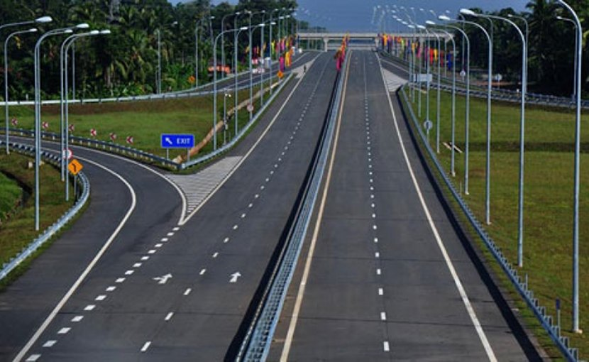 Expressway in Sri Lanka. Credit: Sri Lanka government.