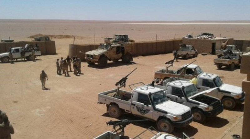 US base in Syria, near the settlement of Al-Tanf. Photo by русская весна, Wikipedia Commons.