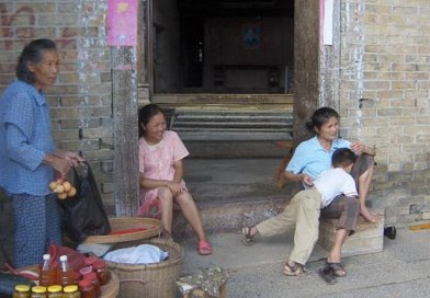 A family in China.