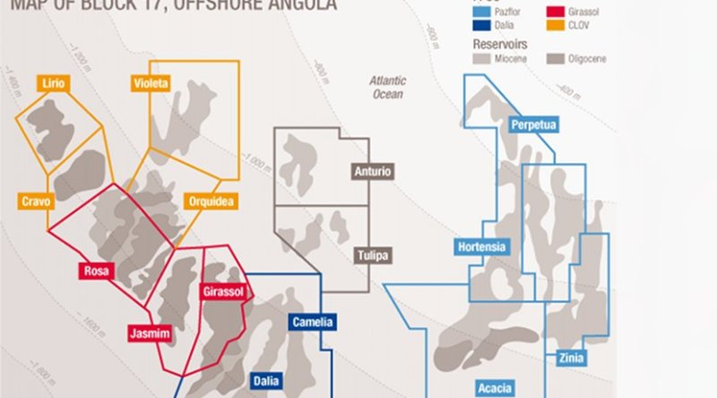 Total Launches Zinia 2 Development in Deep Offshore Block 17