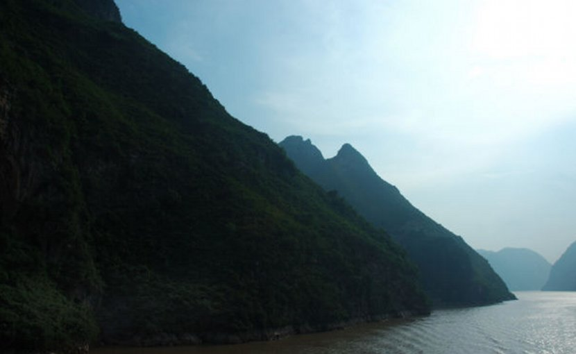 Yangtze River in China.