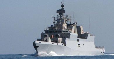 India's INS Kamorta. Photo Credit: Indian Navy