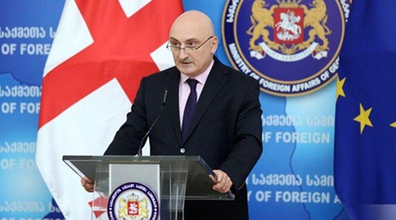 Georgia's Deputy Foreign Minister Davit Dondua. Photo: Foreign Ministry