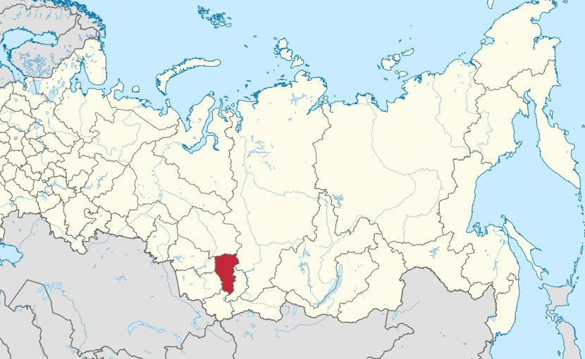 Kemerovo Oblast in Russia. Credit: Wikipedia Commons.