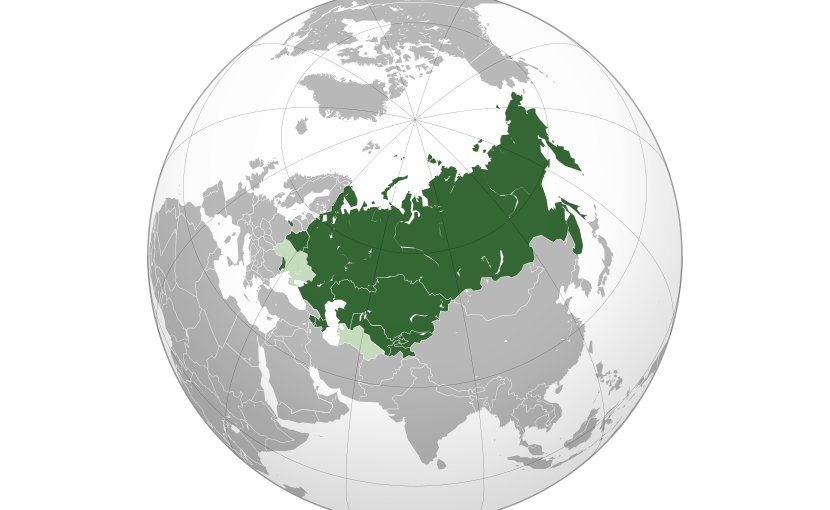 The Commonwealth of Independent States (CIS), also called the Russian Commonwealth. Credit: Wikipedia Commons.