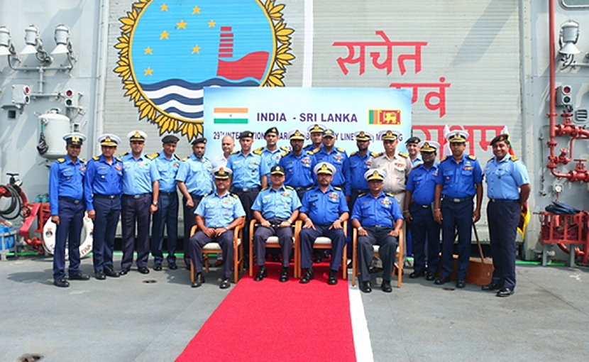 Sri Lanka, India hold 29th International Maritime Boundary Line meeting. Photo credit: Sri Lanka government.