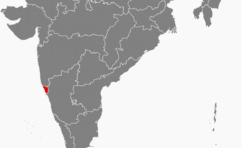 Location of Goa in India. Source: Wikipedia Commons.
