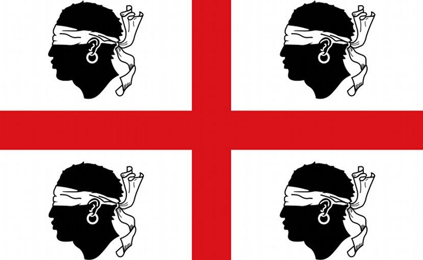 Flag of Autonomous Region of Sardinia. Credit: Wikipedia Commons.
