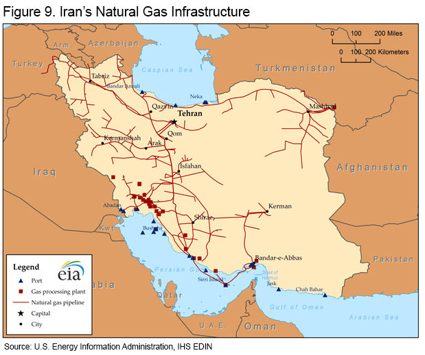 Iran Energy Profile: Holds Some Of World's Largest ...