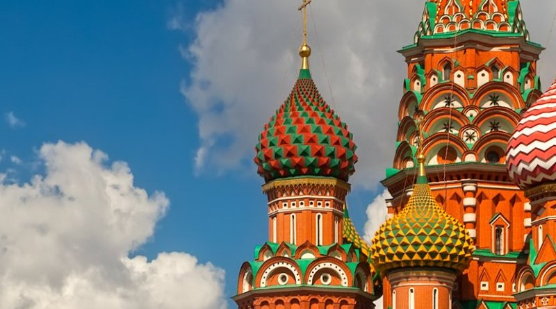 St. Basil Cathedral, Moscow, Russia. Photo Credit: Anton Zelenov, Wikimedia Commons.