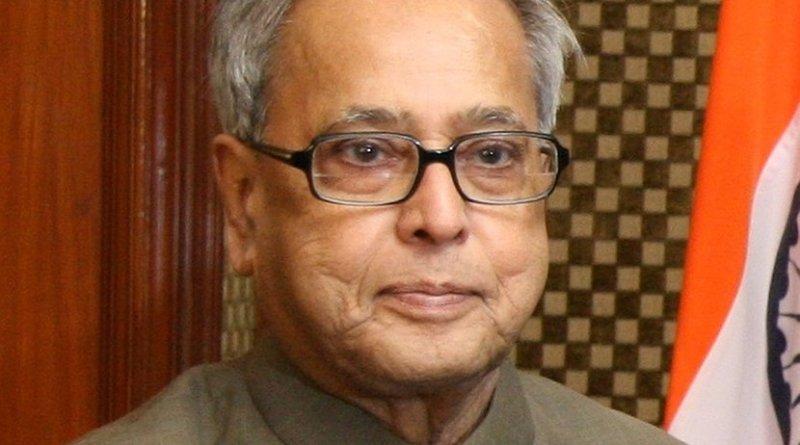 India's Pranab Mukherjee. Photo Credit: US Treasury, Wikimedia Commons.