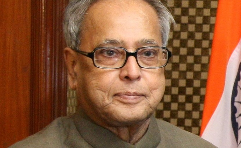 India's Pranab Mukherjee. Photo Credit: US Treasury, Wikimedia Commons.