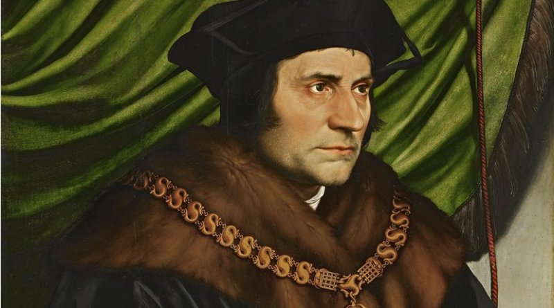 Sir Thomas More (1527) by Hans Holbein the Younger