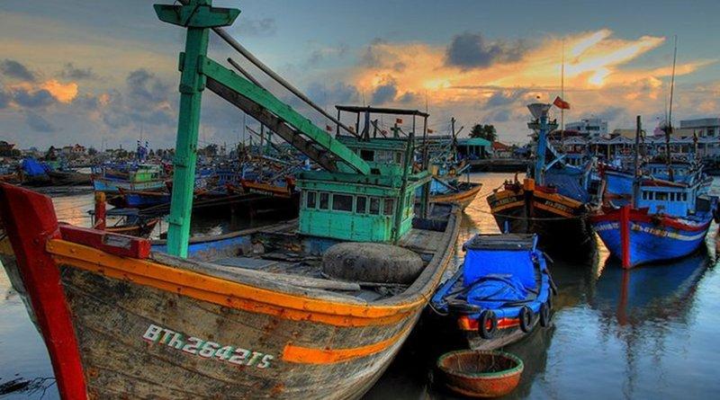 Vietnamese fishing boats. Photo Credit: Lucas Jans, Wikimedia Commons.