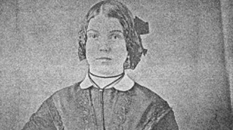 An image of a woman is recovered from a 19th-century daguerreotype that had tarnished almost beyond recognition. A novel process, developed at Western University and Canadian Light Source Inc, mapped its mercury content and brought the 'ghost' back to life. Credit Western University