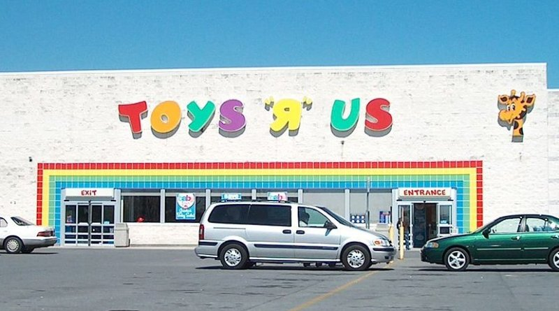 """Toys """"R"""" Us. Photo Credi: Cculber007, Wikimedia Commons."""
