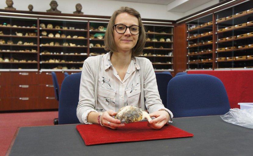Dr. Amelie Beaudet. Credit Wits University