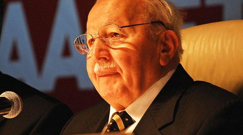 Turkey's Necmettin Erbakan. Photo Credit: Zest, Wikimedia Commons.