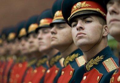 Russian Honor Guard.