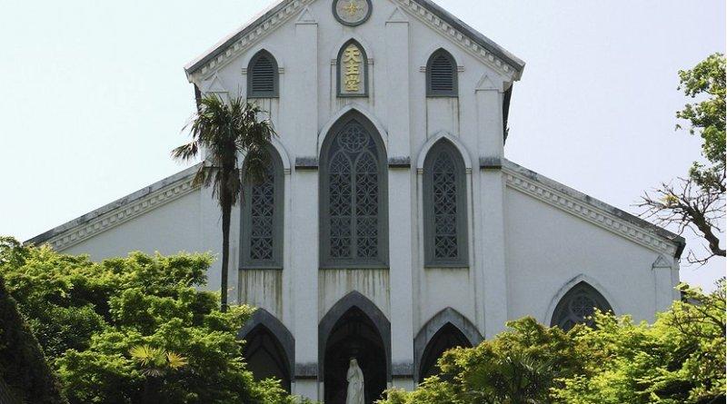 Oura Church, Nagasaki, Japan. Photo Credit: Fg2, Wikipedia Commons.