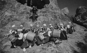 Jahjouka musicians. Photo Credit: Harrak Ayoub, Wikimedia Commons.
