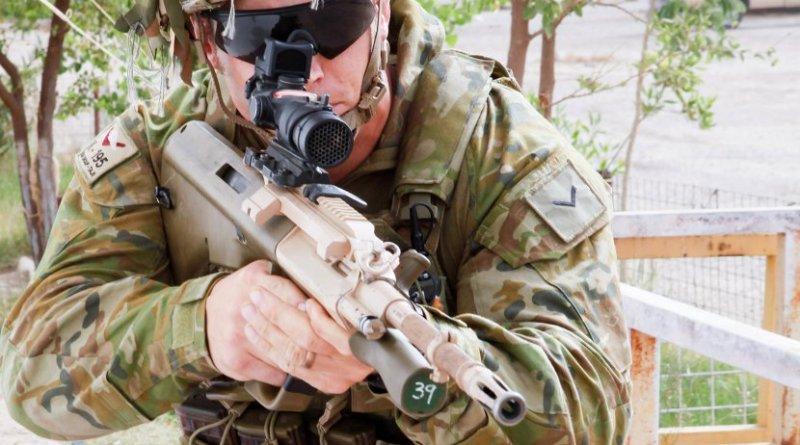 Australian soldier. U.S. Army photo by Sgt. Joshua Powell, Wikimedia Commons.