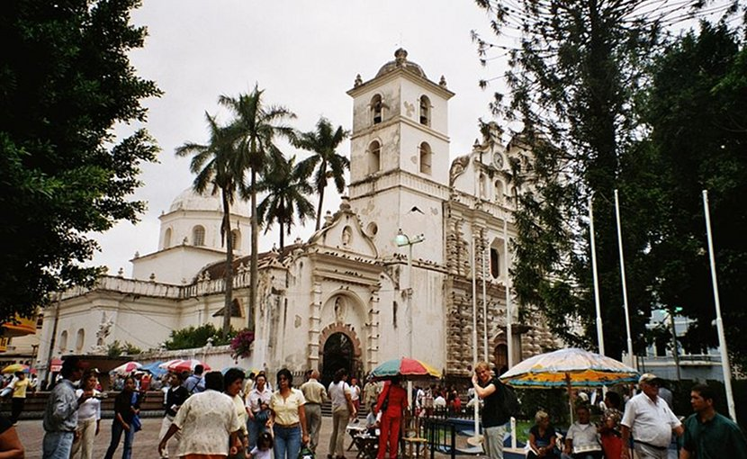The Tegucigalpa Cathedral — a Spanish colonial period church in Tegucigalpa, Honduras. Photo Credit: Wikipedia Commons.
