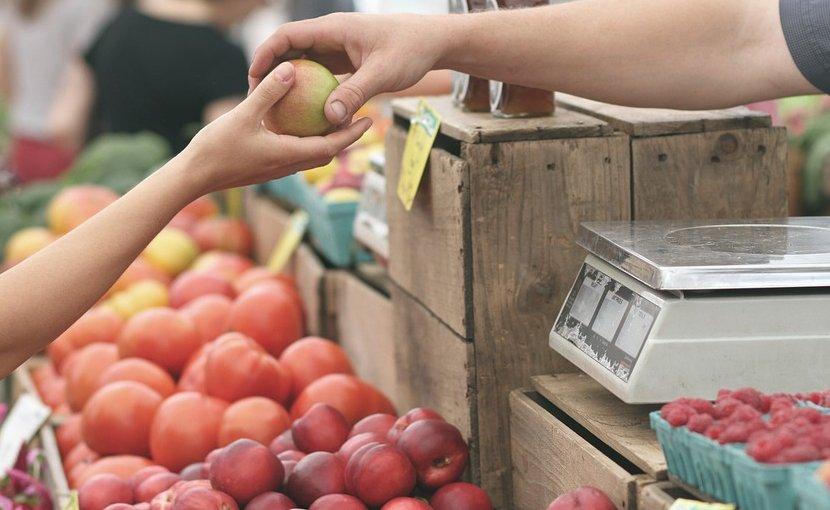 farmers market, vegetables fruit