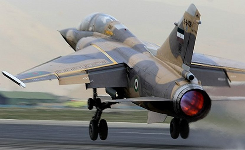 File photo of Iranian Sukhoi fighter jet. Photo Credit: Fars News Agency.