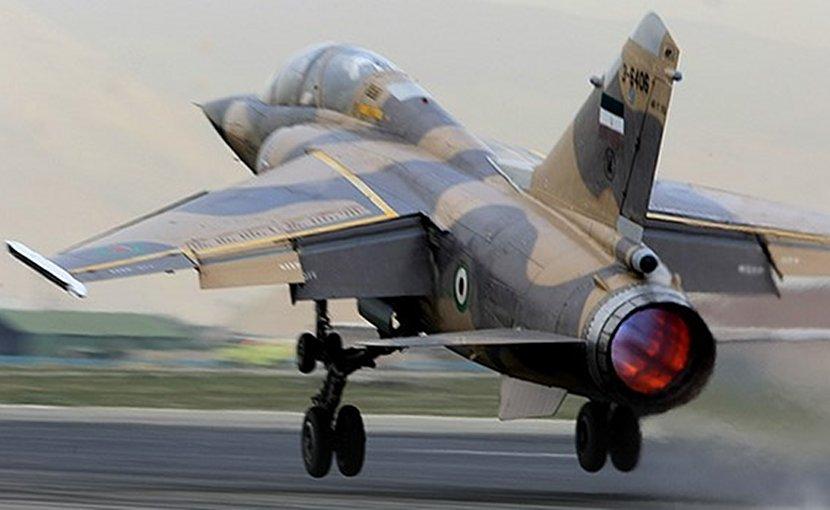 File photo of Iranian Sukhoi fighter jet. Photo Credit: Fars News Agency.