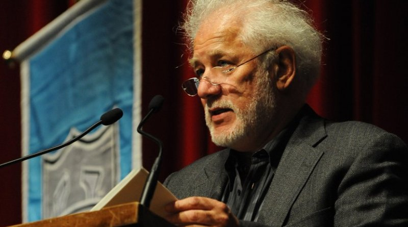 Michael Ondaatje. Photo Credit: Tulane Public Relations, Wikipedia Commons.