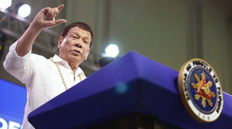 Philippine President Rodrigo Duterte. Photo courtesy of the Presidential Communications Office
