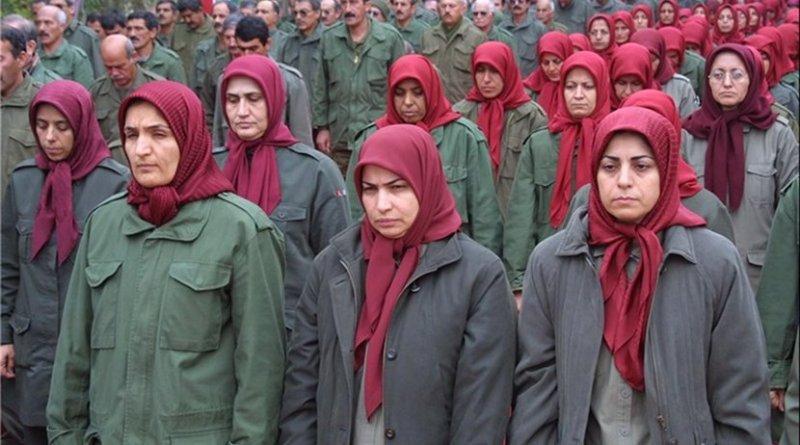 Members of Mojahedin-e Khalq Organization (MKO or MEK). Photo Credit: Tasnim News Agency.