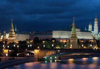 The Kremlin, Moscow, Russia.