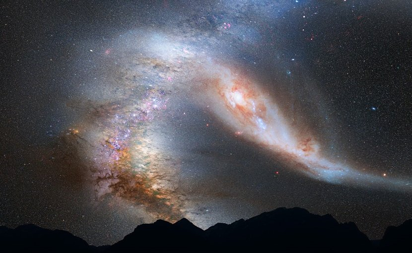 The Andromeda Galaxy.