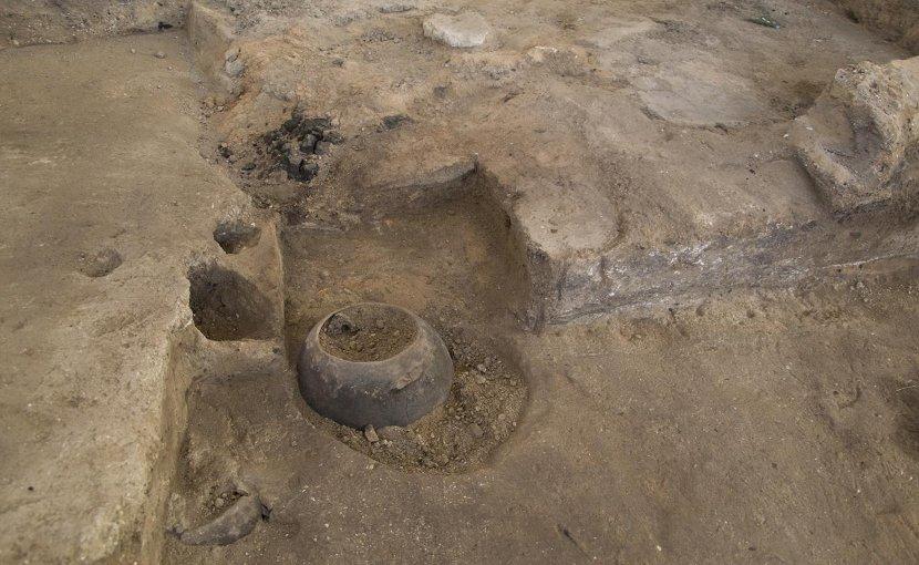 n situ pottery at the archaeological site of Çatalhöyük. Credit Çatalhöyük Research Project.