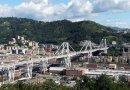 The Ponte Morandi bridge in 2016. Photo Credit: Davide Papalini, Wikipedia Commons