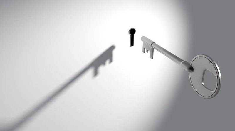 privacy lock key