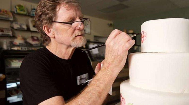 Cake artist Jack Phillips, owner of Masterpiece Cakeshop in Lakewood, Colorado. Credit: Alliance Defending Freedom.