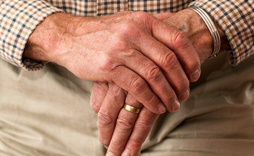 elderly hands aging