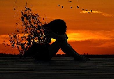 woman kenya sunset