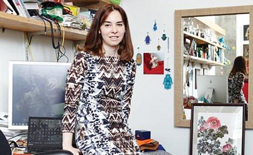 This is MIT professor Dina Katabi. Credit Simon Simard