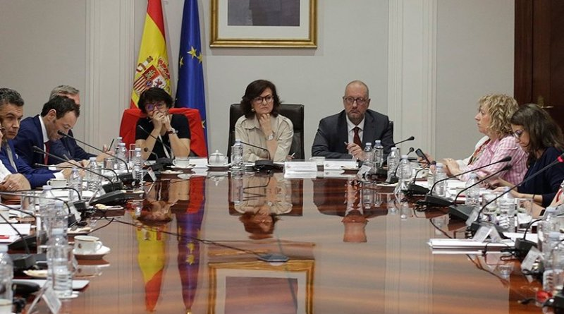 Spain's Deputy PM Calvo. Photo Credit: Ministry of the President. Government of Spain, Wikipedia Commons.