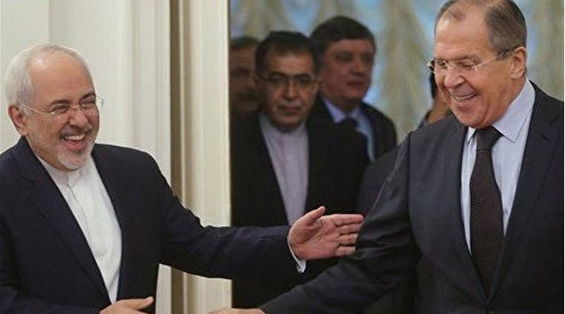 Iranian Foreign Minister Mohammad Javad Zarif and his Russian counterpart Sergei Lavrov. Photo Credit: Tasnim News Agency.