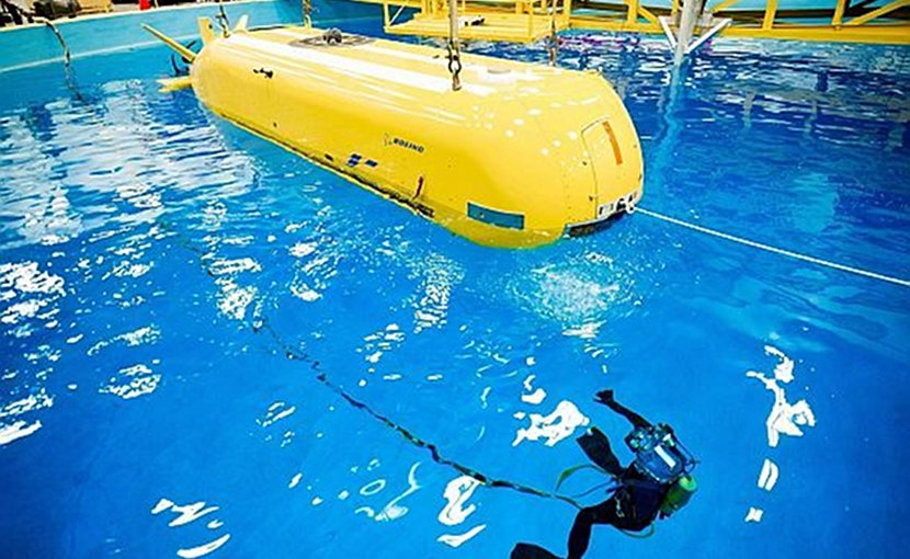Orca Extra Large Unmanned Undersea Vehicle (XLUUV) system