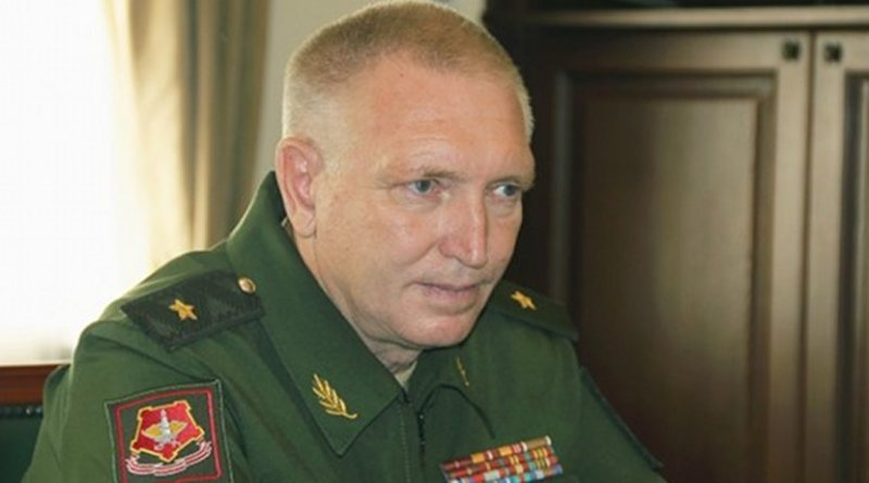 Vasily Lunev, a career Russian military officer, will lead the Abkhaz army. Photo: presidentofabkhazia.org