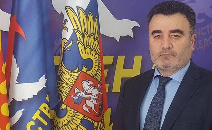 United Macedonia's president, Janko Bacev. Photo: United Macedonia