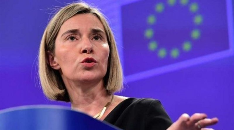 European Union Foreign Policy Chief Federica Mogherini. Photo Credit: Tasnim News Agency.