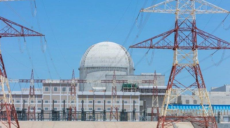 UAE's Barakah unit 2 nuclear plant. (Image: ENEC)